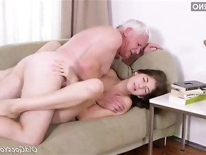 Old fucked brunette amateur guy by getting for that interfere